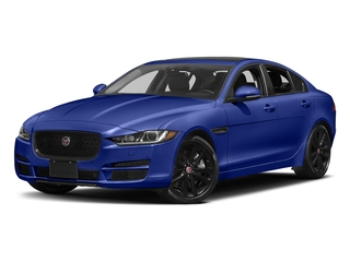Caesium Blue Metallic 2017 Jaguar XE Pictures XE Sedan 4D 25t Premium I4 Turbo photos front view