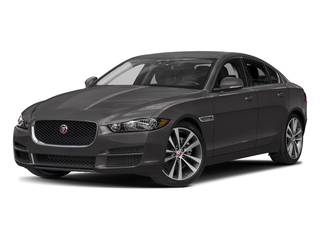 Ammonite Gray Metallic 2017 Jaguar XE Pictures XE Sedan 4D 20d Prestige I4 AWD T-Dsl photos front view