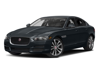 Celestial Black 2017 Jaguar XE Pictures XE Sedan 4D 20d Prestige I4 AWD T-Dsl photos front view