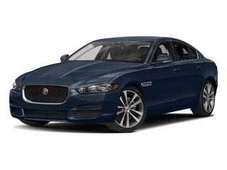 Dark Sapphire Metallic 2017 Jaguar XE Pictures XE Sedan 4D 20d AWD I4 T-Diesel photos front view