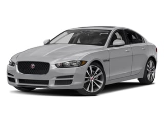 Glacier White Metallic 2017 Jaguar XE Pictures XE Sedan 4D 20d Prestige I4 AWD T-Dsl photos front view