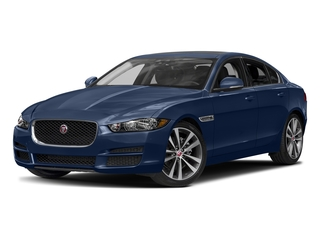 Bluefire Metallic 2017 Jaguar XE Pictures XE Sedan 4D 20d Prestige I4 AWD T-Dsl photos front view