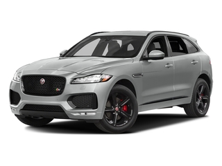 Rhodium Silver Metallic 2017 Jaguar F-PACE Pictures F-PACE Utility 4D S AWD V6 photos front view