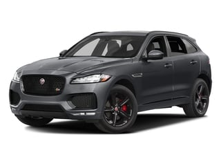 Tempest Grey 2017 Jaguar F-PACE Pictures F-PACE Utility 4D S AWD V6 photos front view