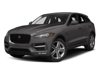 Ammonite Grey Metallic 2017 Jaguar F-PACE Pictures F-PACE Utility 4D 35t R-Sport AWD V6 photos front view