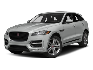 Rhodium Silver Metallic 2017 Jaguar F-PACE Pictures F-PACE Utility 4D 35t R-Sport AWD V6 photos front view