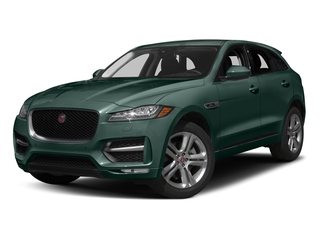 British Racing Green Metallic 2017 Jaguar F-PACE Pictures F-PACE Utility 4D 35t R-Sport AWD V6 photos front view