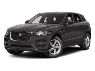 Ammonite Grey Metallic 2017 Jaguar F-PACE Pictures F-PACE 35t Premium AWD photos front view