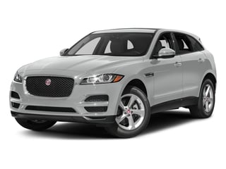 Rhodium Silver Metallic 2017 Jaguar F-PACE Pictures F-PACE 35t Premium AWD photos front view