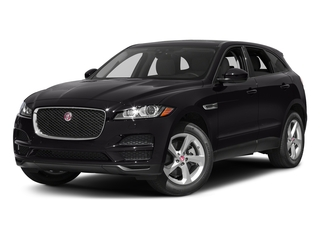 Ultimate Black Metallic 2017 Jaguar F-PACE Pictures F-PACE 35t Premium AWD photos front view