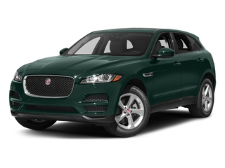 British Racing Green Metallic 2017 Jaguar F-PACE Pictures F-PACE 35t Premium AWD photos front view