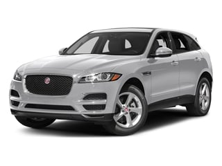 Glacier White Metallic 2017 Jaguar F-PACE Pictures F-PACE 35t Premium AWD photos front view