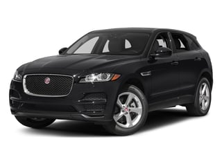Ebony 2017 Jaguar F-PACE Pictures F-PACE 35t Premium AWD photos front view