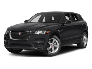 Storm Grey 2017 Jaguar F-PACE Pictures F-PACE 35t Premium AWD photos front view