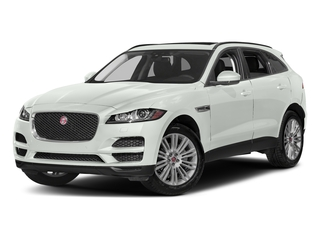 Polaris White 2017 Jaguar F-PACE Pictures F-PACE 20d AWD photos front view