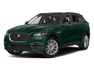 British Racing Green Metallic 2017 Jaguar F-PACE Pictures F-PACE Utility 4D 20d Premium AWD I4 T-Dsl photos front view