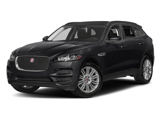 Ebony 2017 Jaguar F-PACE Pictures F-PACE 20d AWD photos front view