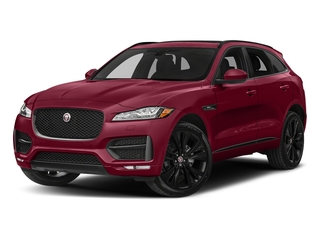 Odyssey Red Metallic 2017 Jaguar F-PACE Pictures F-PACE Utility 4D 20d R-Sport AWD I4 T-Dsl photos front view