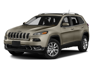 Light Brownstone Pearlcoat 2017 Jeep Cherokee Pictures Cherokee Utility 4D Limited 2WD photos front view