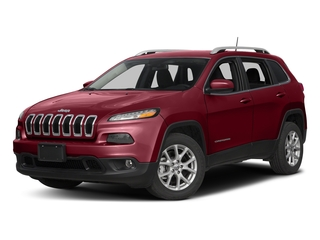 Deep Cherry Red Crystal Pearlcoat 2017 Jeep Cherokee Pictures Cherokee Utility 4D Latitude 4WD photos front view