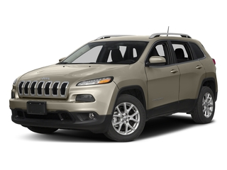 Light Brownstone Pearlcoat 2017 Jeep Cherokee Pictures Cherokee Utility 4D Latitude 2WD photos front view
