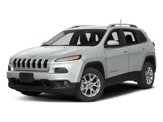 Bright White Clearcoat 2017 Jeep Cherokee Pictures Cherokee Utility 4D Latitude 2WD photos front view