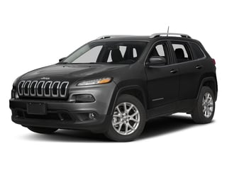 Diamond Black Crystal Pearlcoat 2017 Jeep Cherokee Pictures Cherokee Utility 4D Latitude 4WD photos front view