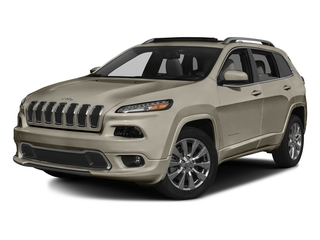 Light Brownstone Pearlcoat 2017 Jeep Cherokee Pictures Cherokee Utility 4D Overland 4WD photos front view