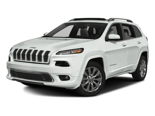 Bright White Clearcoat 2017 Jeep Cherokee Pictures Cherokee Utility 4D Overland 4WD photos front view