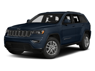 True Blue Pearlcoat 2017 Jeep Grand Cherokee Pictures Grand Cherokee Utility 4D Laredo 4WD photos front view