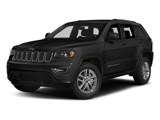 Diamond Black Crystal Pearlcoat 2017 Jeep Grand Cherokee Pictures Grand Cherokee Utility 4D Laredo 4WD photos front view
