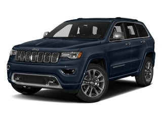 True Blue Pearlcoat 2017 Jeep Grand Cherokee Pictures Grand Cherokee Utility 4D Overland 4WD T-Dsl photos front view