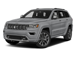 Billet Silver Metallic Clearcoat 2017 Jeep Grand Cherokee Pictures Grand Cherokee Utility 4D Overland 4WD T-Dsl photos front view