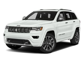 Bright White Clearcoat 2017 Jeep Grand Cherokee Pictures Grand Cherokee Utility 4D Overland 4WD T-Dsl photos front view