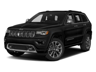 Diamond Black Crystal Pearlcoat 2017 Jeep Grand Cherokee Pictures Grand Cherokee Utility 4D Overland 2WD photos front view