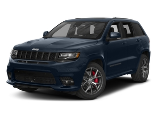 True Blue Pearlcoat 2017 Jeep Grand Cherokee Pictures Grand Cherokee SRT 4x4 photos front view