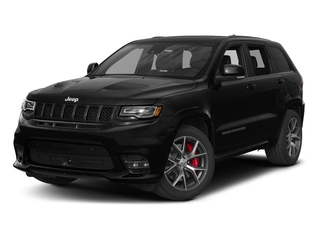 Diamond Black Crystal Pearlcoat 2017 Jeep Grand Cherokee Pictures Grand Cherokee SRT 4x4 photos front view