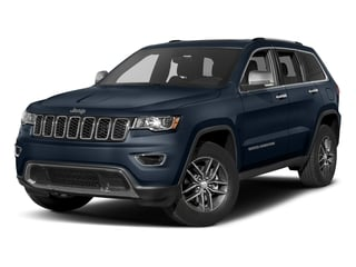 True Blue Pearlcoat 2017 Jeep Grand Cherokee Pictures Grand Cherokee Utility 4D Limited 4WD T-Dsl photos front view