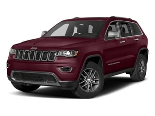 Velvet Red Pearlcoat 2017 Jeep Grand Cherokee Pictures Grand Cherokee Utility 4D Limited 4WD T-Dsl photos front view