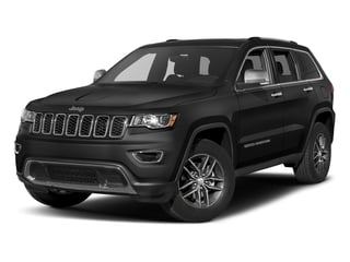 Diamond Black Crystal Pearlcoat 2017 Jeep Grand Cherokee Pictures Grand Cherokee Limited 75th Anniversary Edition 4x2 *Ltd Avail* photos front view