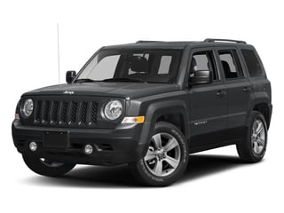 Granite Crystal Metallic Clearcoat 2017 Jeep Patriot Pictures Patriot Utility 4D Sport 2WD I4 photos front view