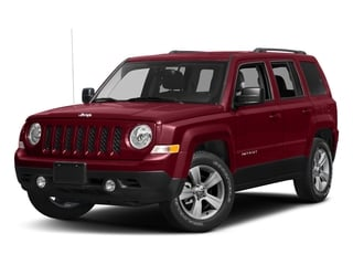 Deep Cherry Red Crystal Pearlcoat 2017 Jeep Patriot Pictures Patriot Utility 4D Sport 4WD I4 photos front view