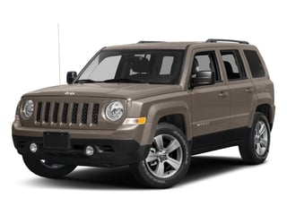 Mojave Sand Clearcoat 2017 Jeep Patriot Pictures Patriot Utility 4D Sport 4WD I4 photos front view