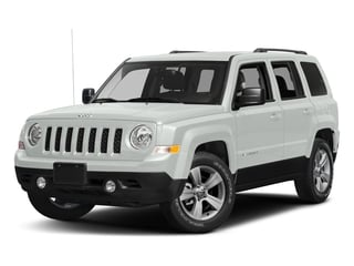 Bright White Clearcoat 2017 Jeep Patriot Pictures Patriot Utility 4D Sport 4WD I4 photos front view