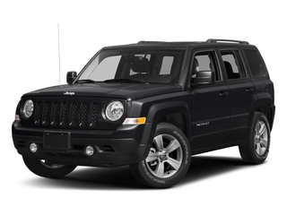 Black Clearcoat 2017 Jeep Patriot Pictures Patriot Utility 4D Sport 4WD I4 photos front view