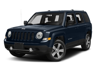 True Blue Pearlcoat 2017 Jeep Patriot Pictures Patriot Latitude FWD photos front view