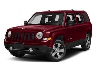 Deep Cherry Red Crystal Pearlcoat 2017 Jeep Patriot Pictures Patriot Latitude FWD photos front view