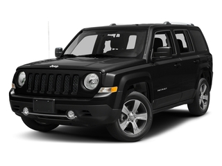 Black Clearcoat 2017 Jeep Patriot Pictures Patriot Latitude FWD photos front view