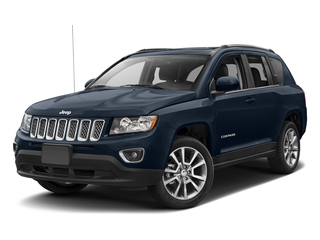 True Blue Pearlcoat 2017 Jeep Compass Pictures Compass Utility 4D Sport 4WD photos front view