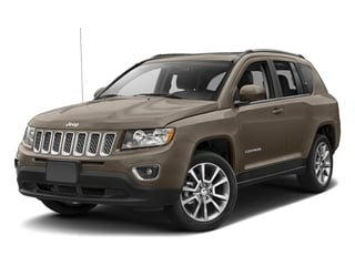 Mojave Sand Clearcoat 2017 Jeep Compass Pictures Compass Latitude 4x4 *Ltd Avail* photos front view